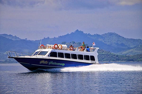 Fast boat to Gili from Bali