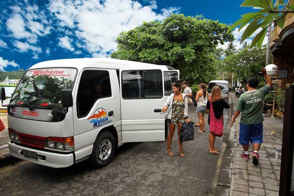 Hotel Shuttle Service Fast Boat to Gili