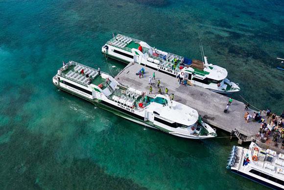 Nusa Penida to Gili Trawangan Fast Boat
