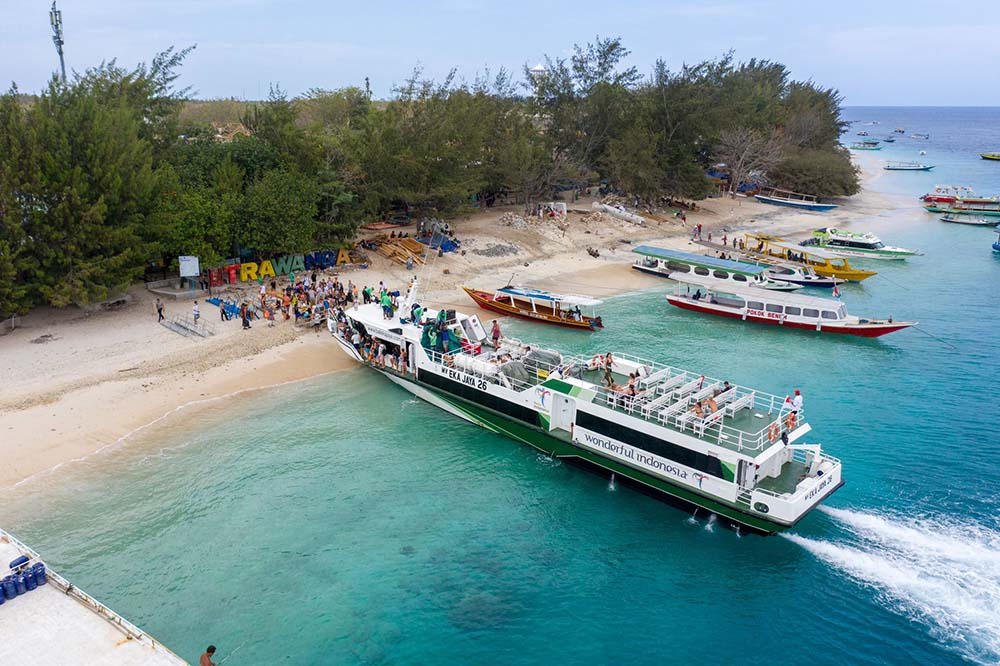 Fast Boat to Gili Islands