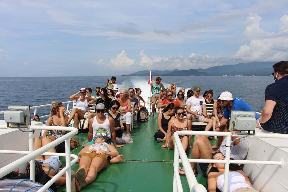 Fast Boat to Bangsal